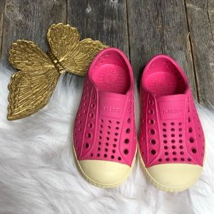 Native Sneakers Pink Girls Toddler 6 Jefferson